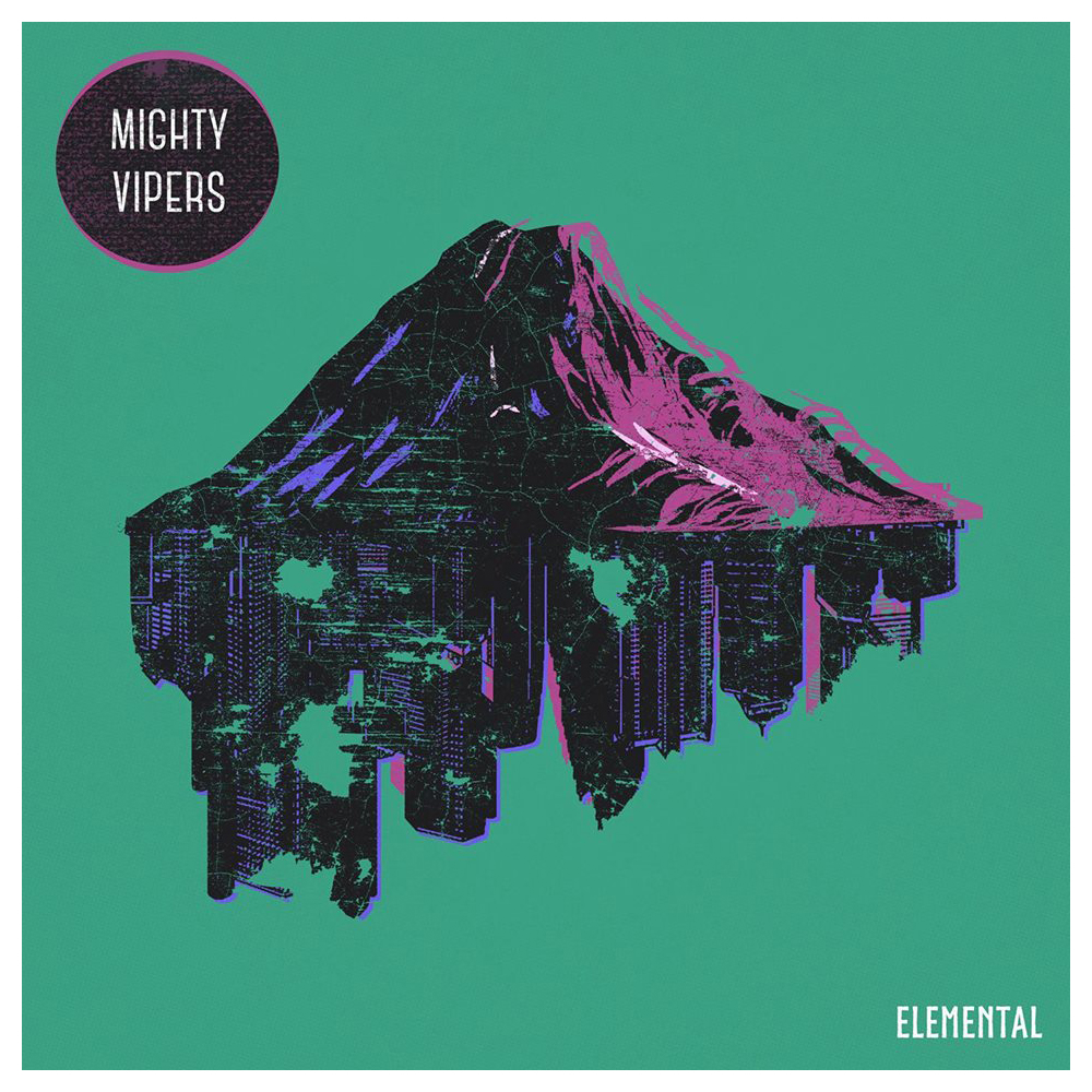 Mighty Vipers - Elemental CD Cover