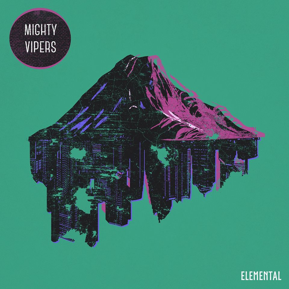 The Mighty Vipers - Elemental CD Artwork